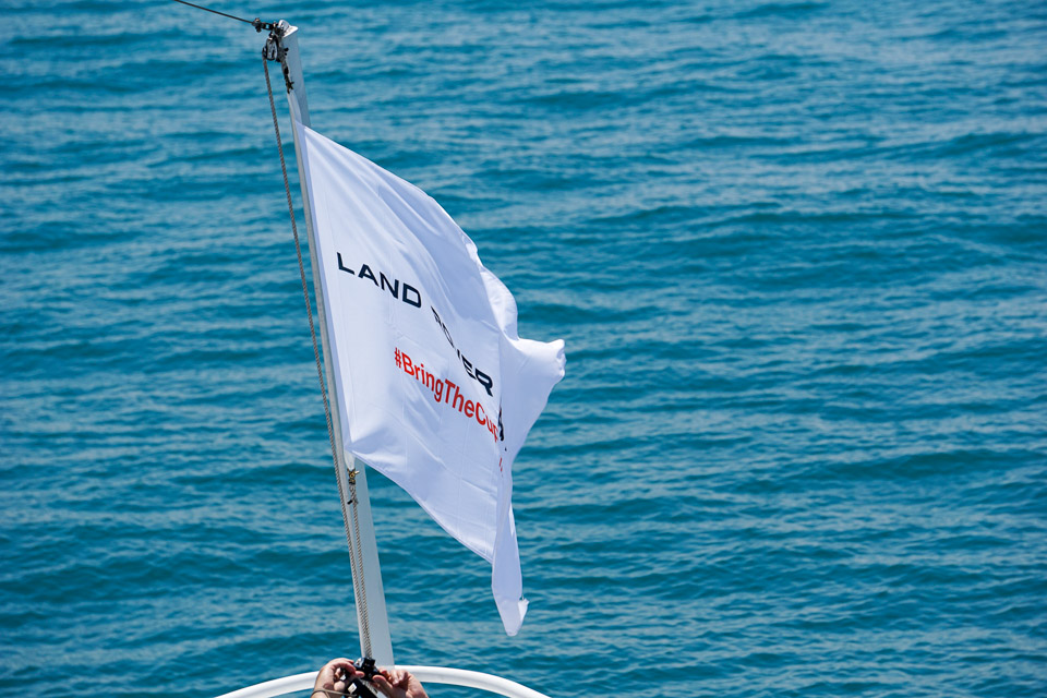 Sailing with Land Rover BAR