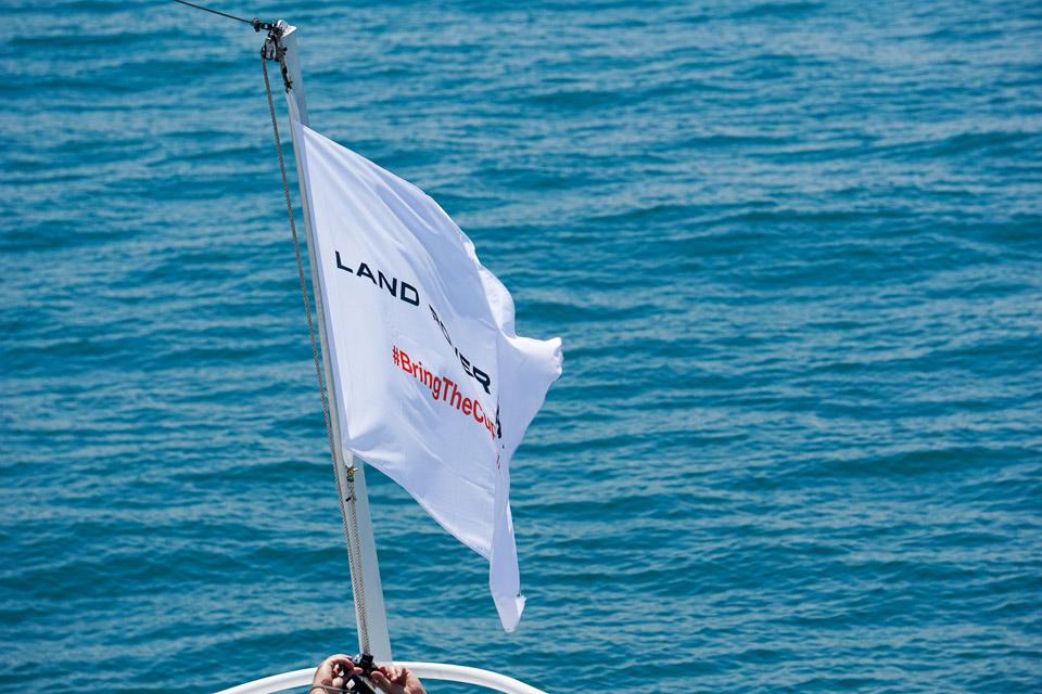 Sailing with Land Rover BAR