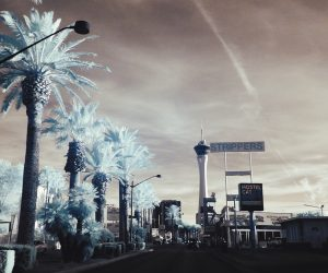 Las Vegas in Infrared