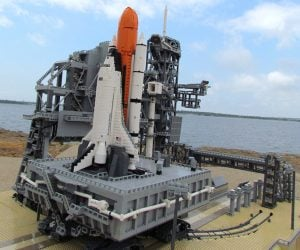 LEGO KSC Rocket Launch Site