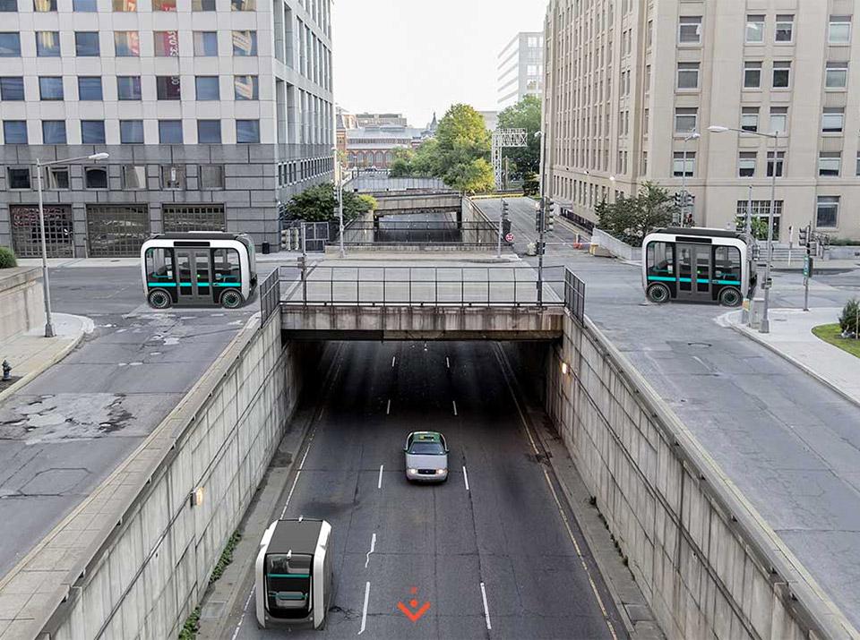 Olli Self-driving Bus