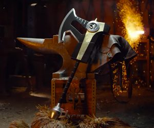Making the Black Ranger's Power Axe
