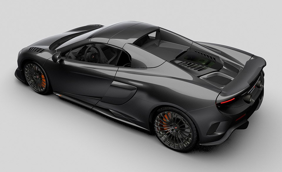 McLaren 675LT Spider Carbon