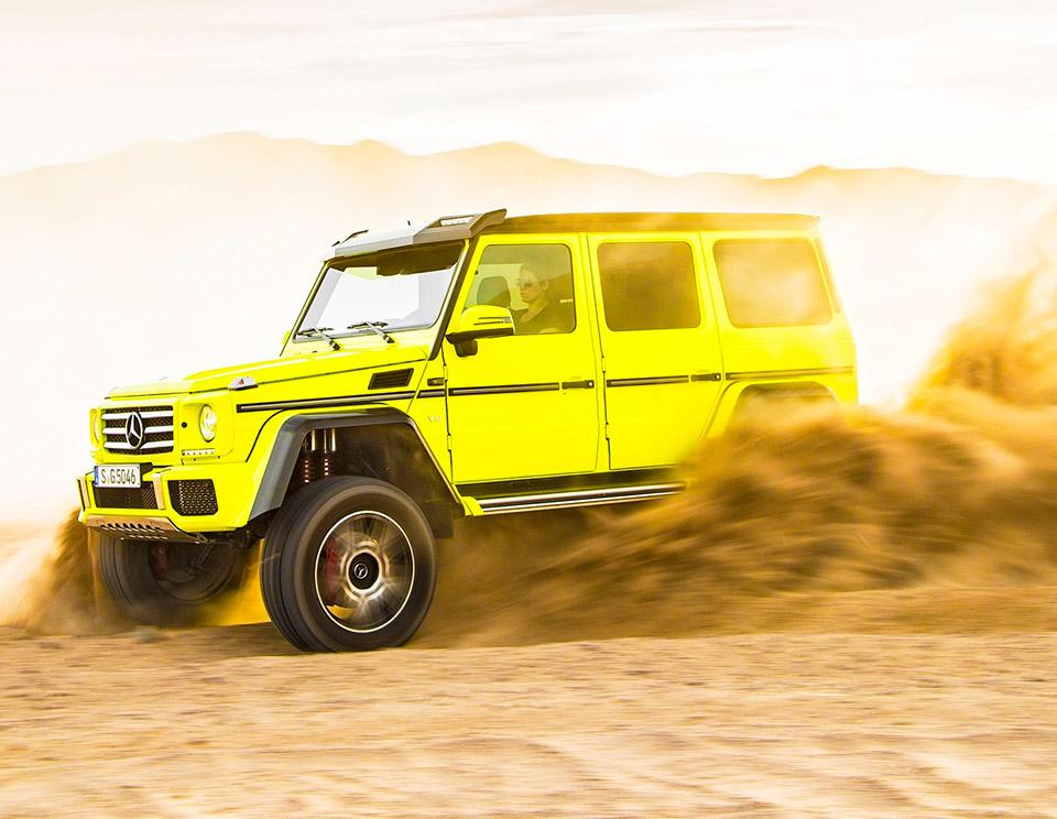 Mercedes-Benz G550 4×4²