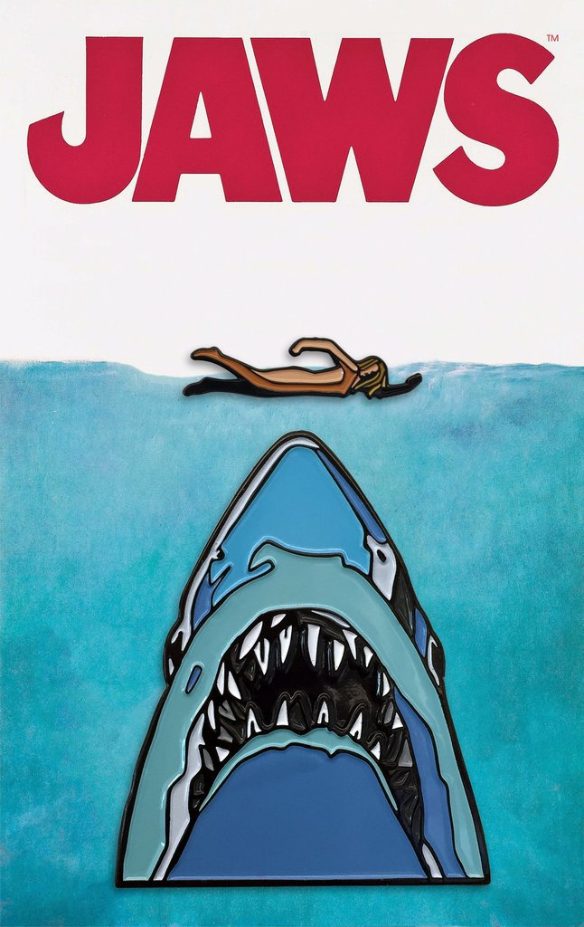 Mondo Jaws Pins & Tees