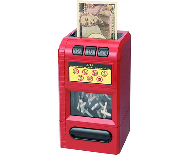 Bill Shredder Piggy Bank