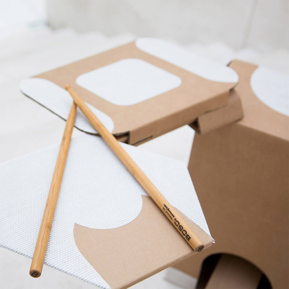 Obilab Cardboard Drum Kit