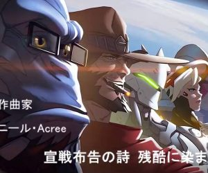 Overwatch Anime-style Credits