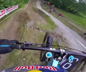 Rachel Atherton POV Downhill Run