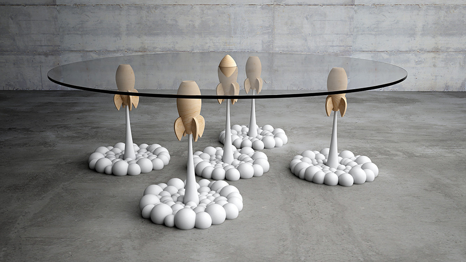Rocket Coffee Table