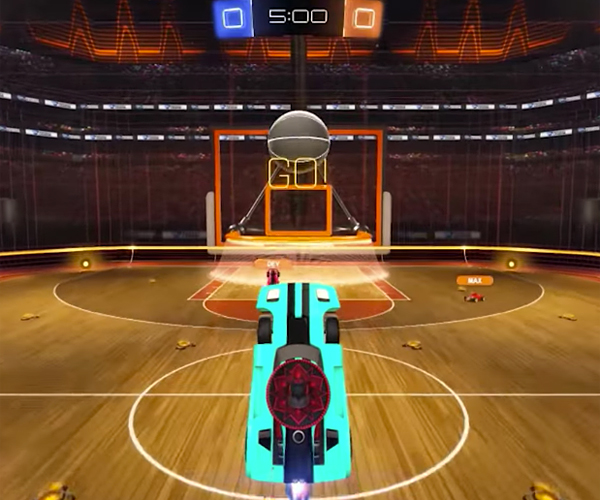 Rocket League: Dunk House
