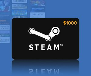Win a $1000 Steam Gift Card