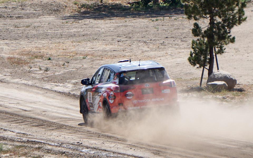 Toyota Rally RAV4 Hot Lap