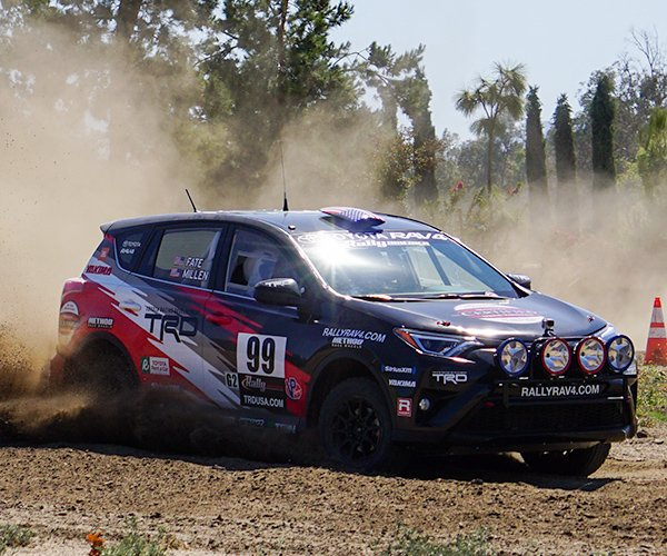 Toyota Rally RAV4 Hot Lap