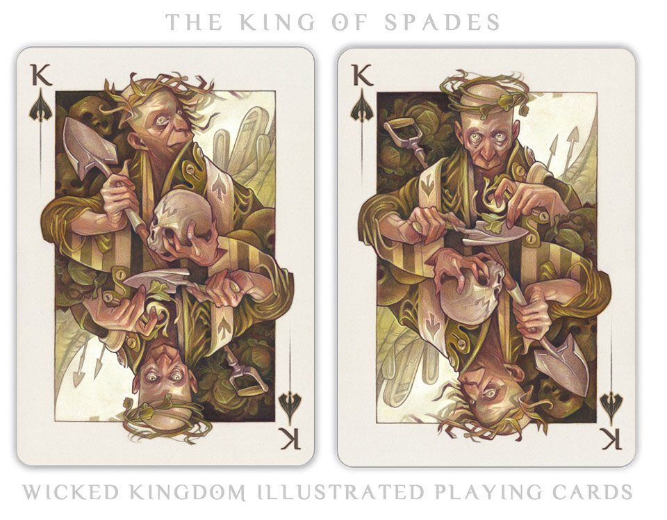 Wicked Kingdom Playing Cards