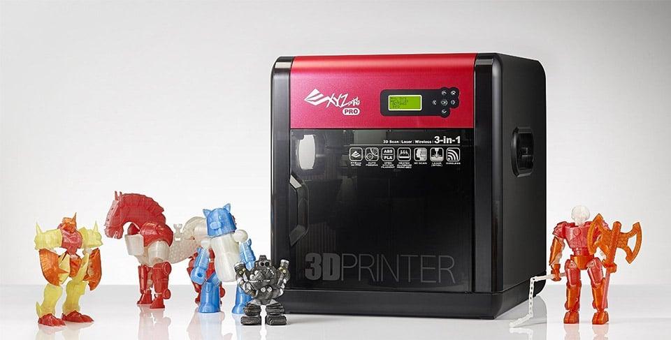 da Vinci 1.0 Pro 3-in-1 3D Printer