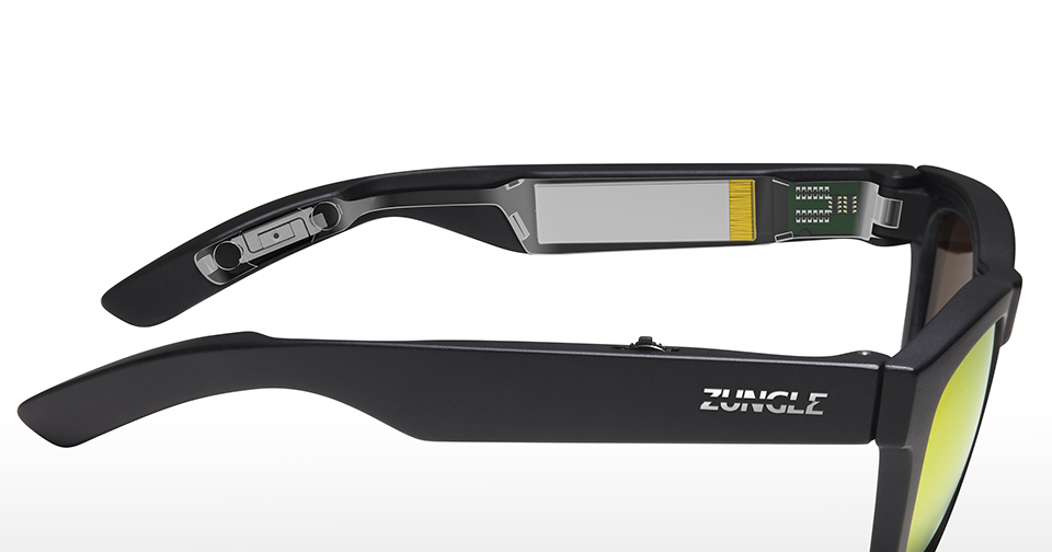 Zungle Panther Audio Sunglass