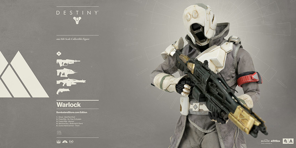 3A Destiny Warlock & Hunter Figures