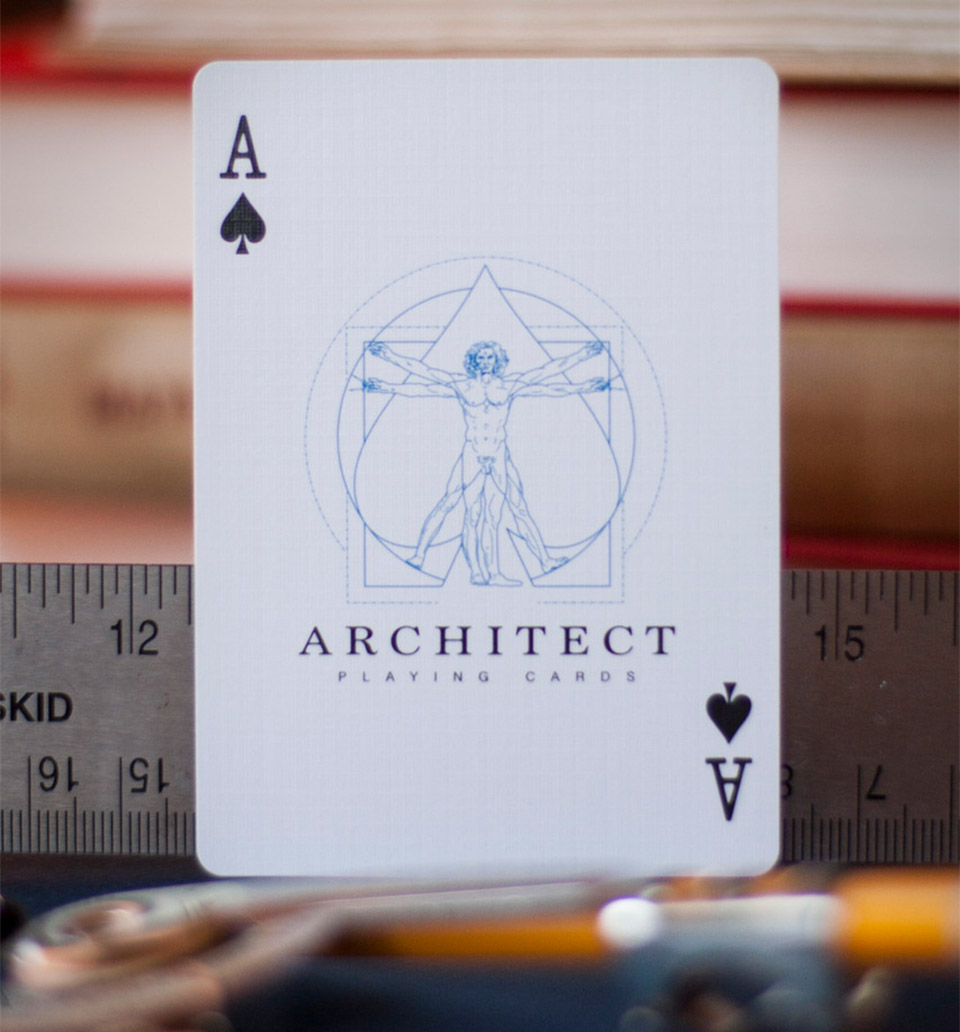 Architect Playing Cards