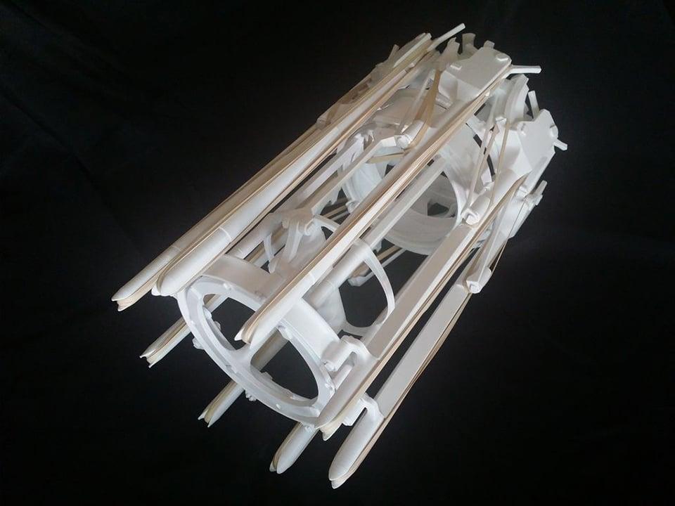 DIY Rubber Band Gatling Gun
