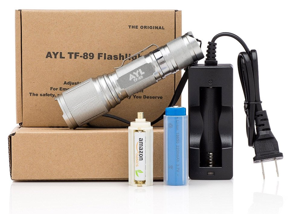 AYL LED Tactical Torch Flashlight