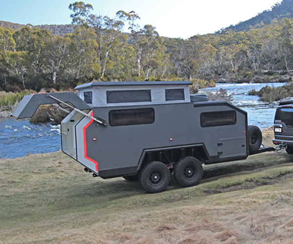 Bruder Exp 6 Off Road Trailer