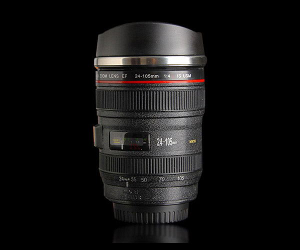 Deal: Self-Stirring Camera Lens Mug