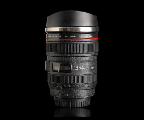 Deal: Self-Stirring Camera Lens Mug