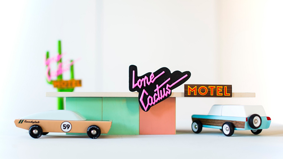Candylab Wooden Toy Cars