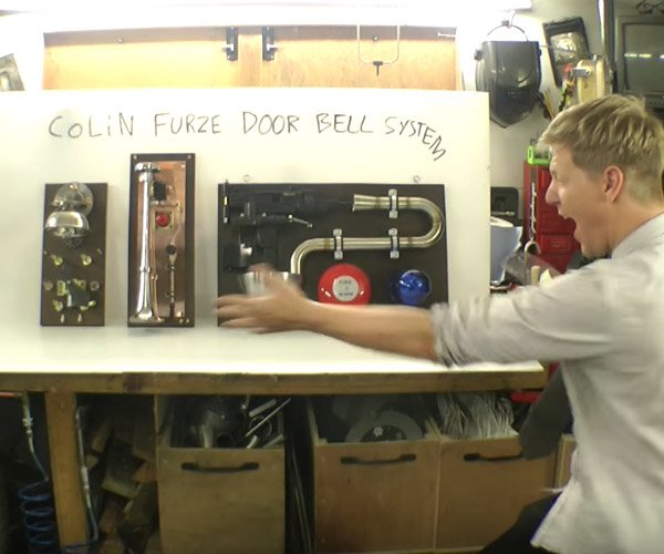 The Colin Furze Door Bell System