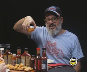 David Cross vs. Hot Wings