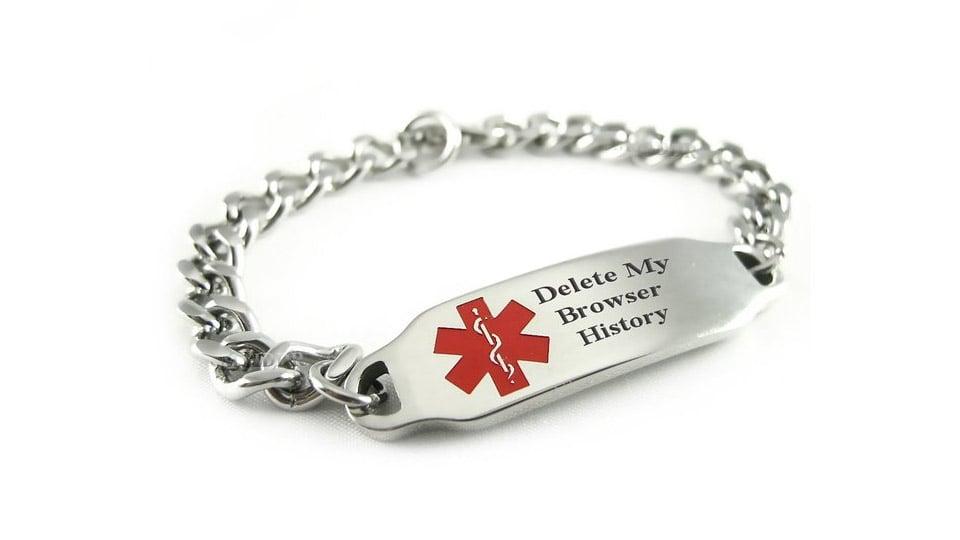 Browser History ID Bracelet