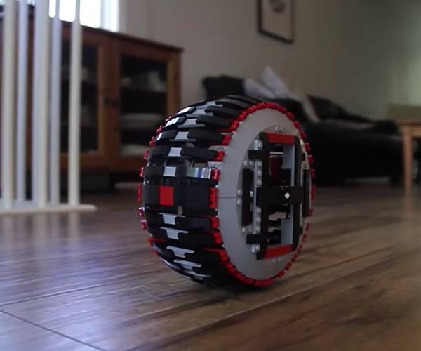 DIY LEGO RC Monowheel