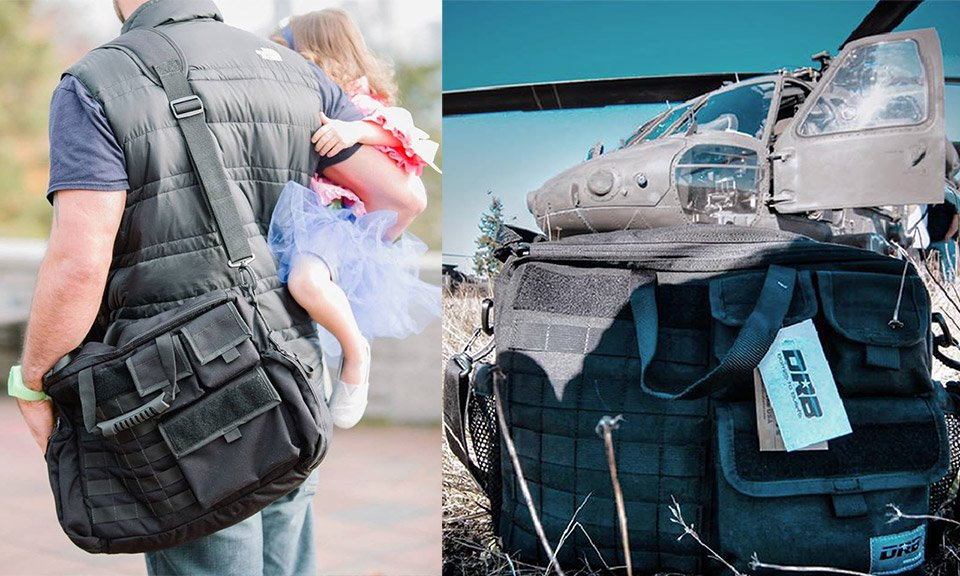 DRB Tactical Diaper Bags