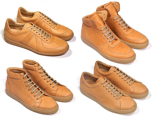 Unfinished Horsehide Trainers