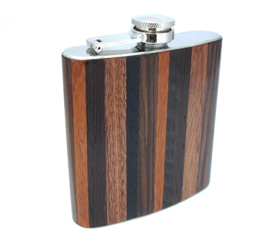 Exotic Wood Flasks