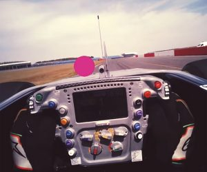 F1 Racer Eye Tracking