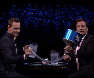 Fallon & Fassbender: Frozen Blackjack