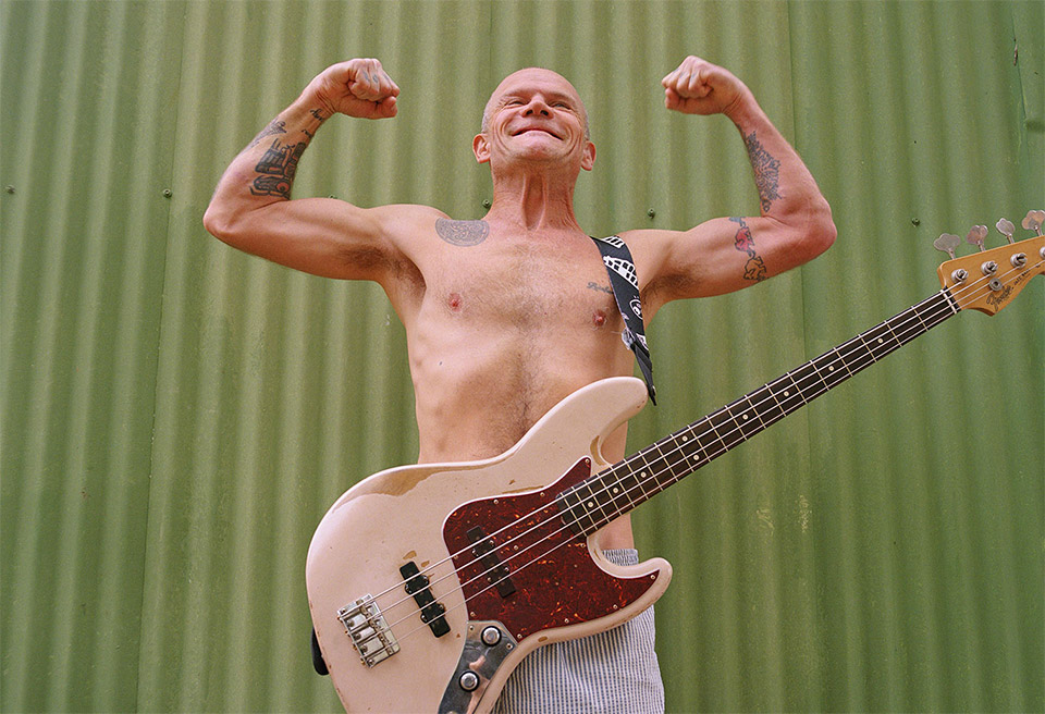 Flea x Fender Signature Bass