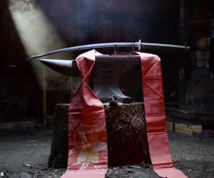 Forging a Dandao Sword