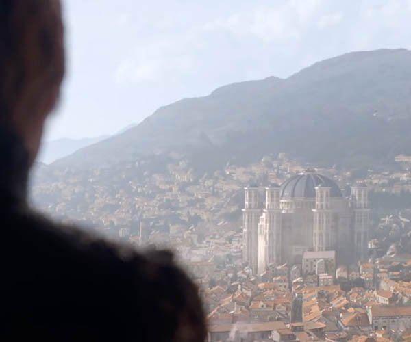Game of Thrones Sept VFX