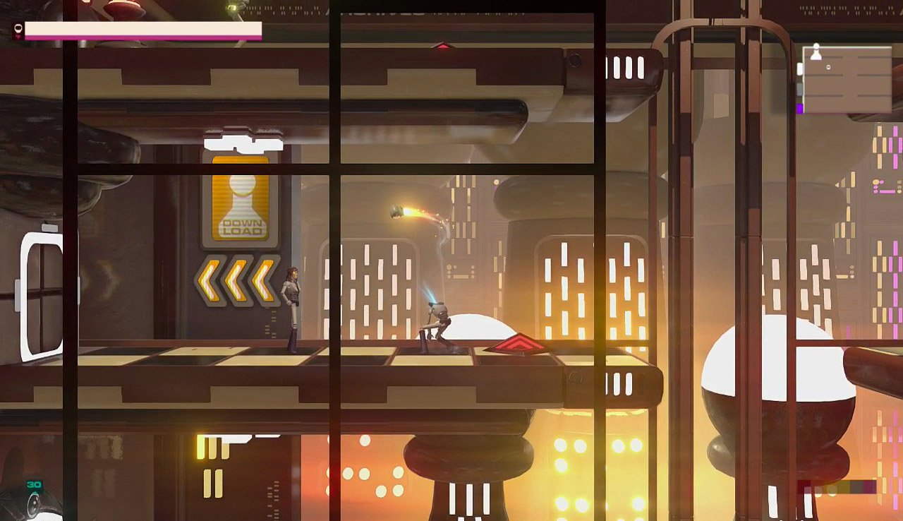 Headlander (Gameplay)
