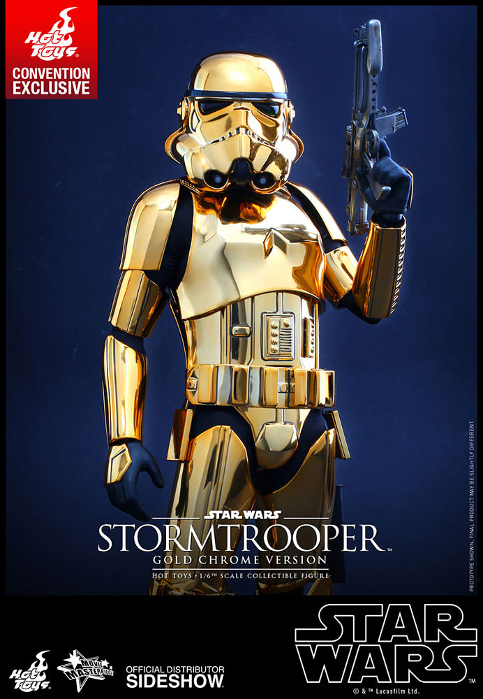 Stormtrooper Gold Chrome Action Figure