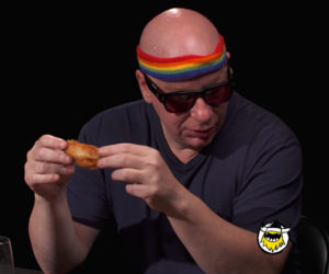 Jeff Ross vs. Hot Wings