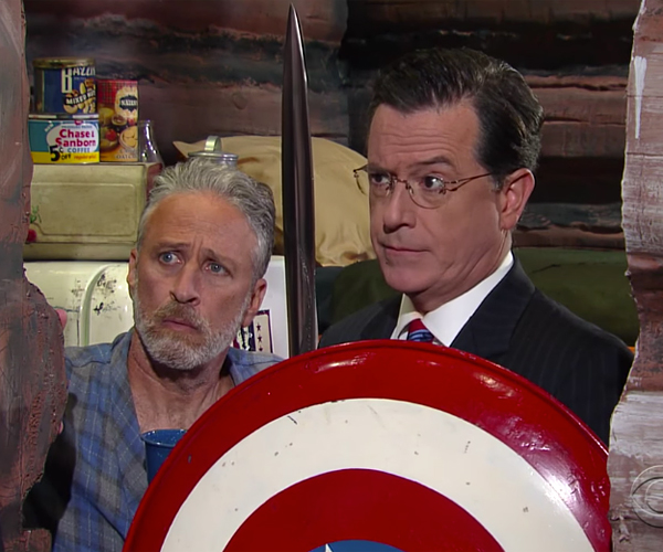"Jon Stewart & ""Stephen Colbert"" Return"