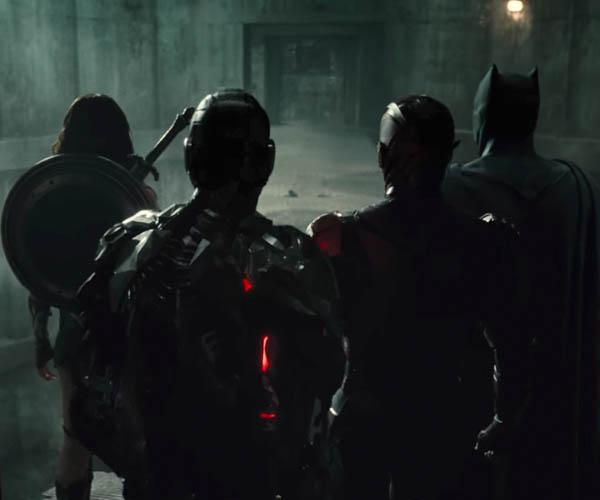 Justice League (SDCC Footage)