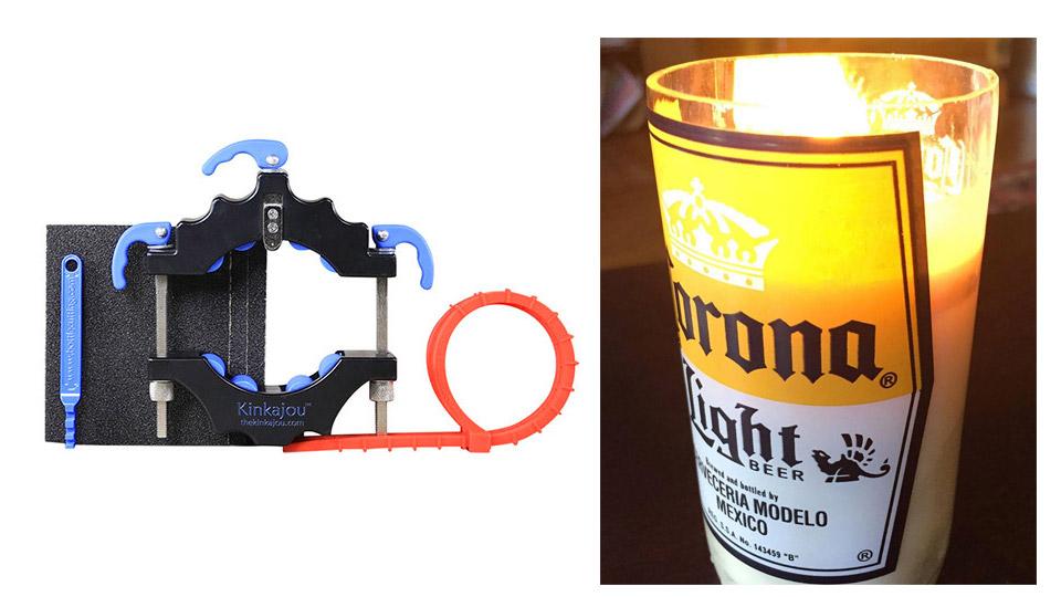 Deal: Kinkajou Bottle & Candle Kit