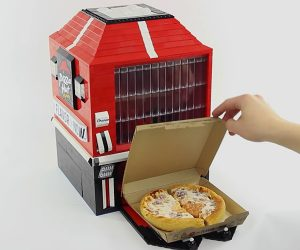 LEGO Pizza Vending Machine
