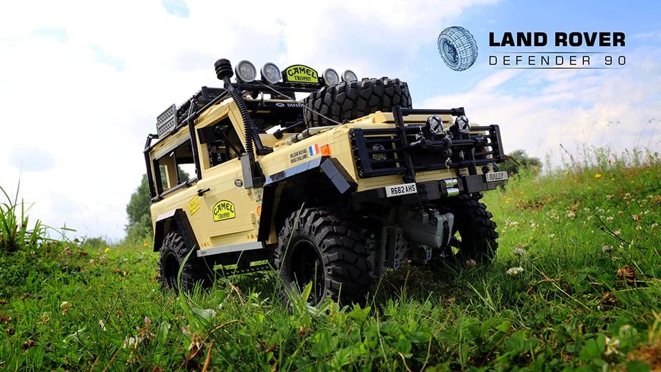 LEGO RC Land Rover Defender 90