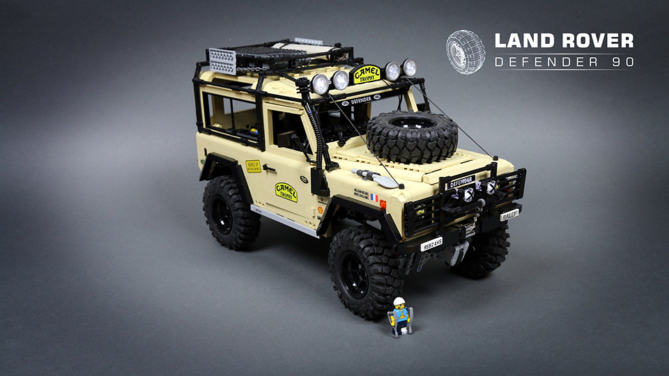 Rc Land Rover Defender Karosserie : lego rc land rover defender 90 ~ Aude.kayakingforconservation.com Haus und Dekorationen